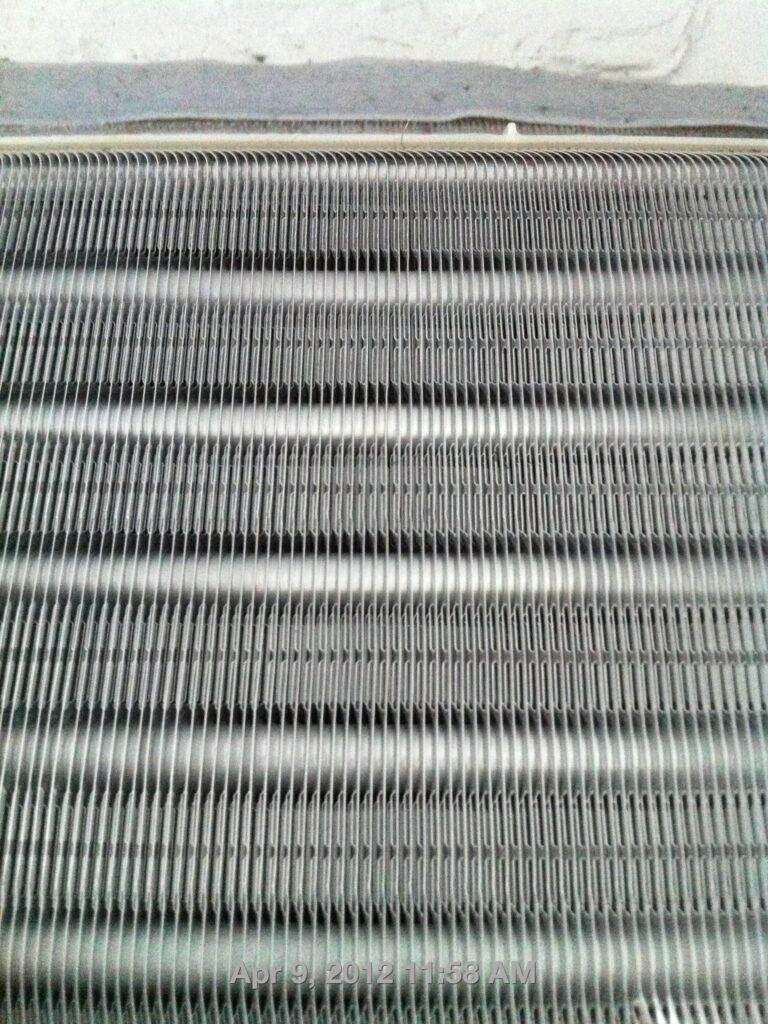 aircon fan coil silver