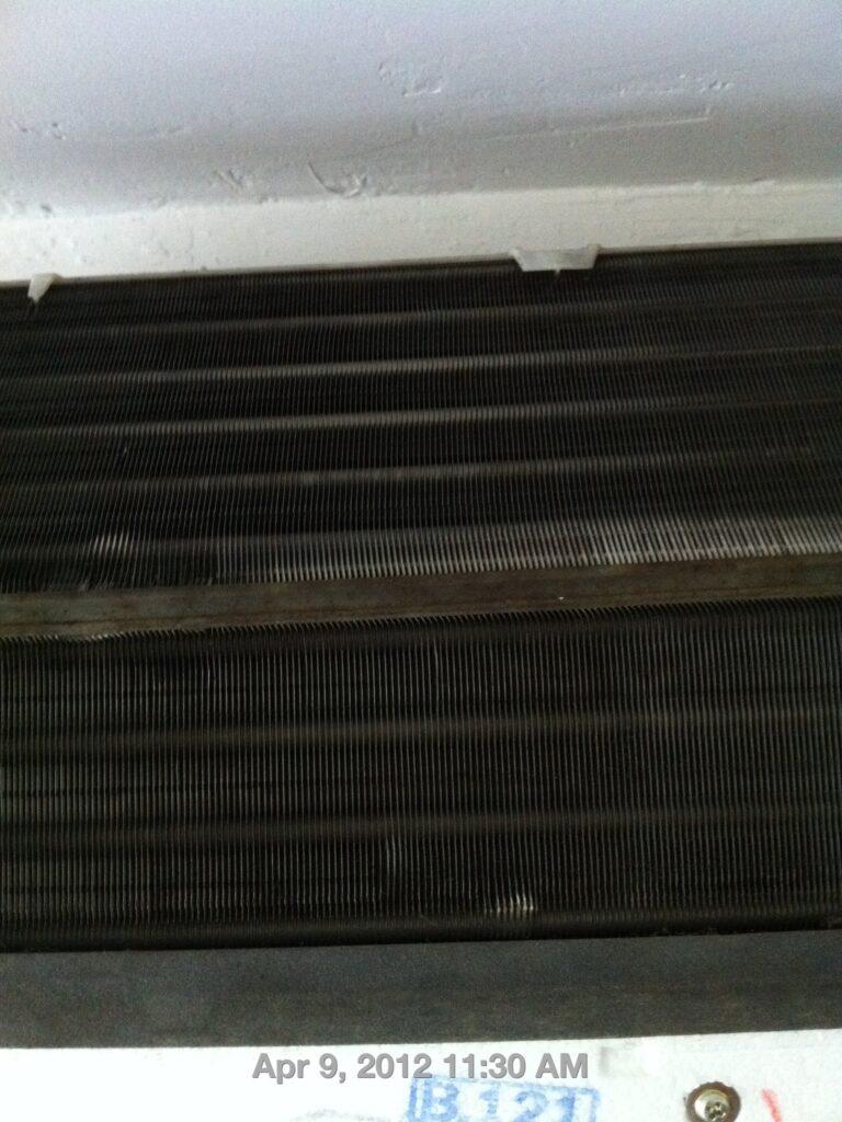 aircon fan coil black