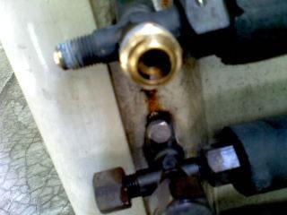 aircon condenser locking nut